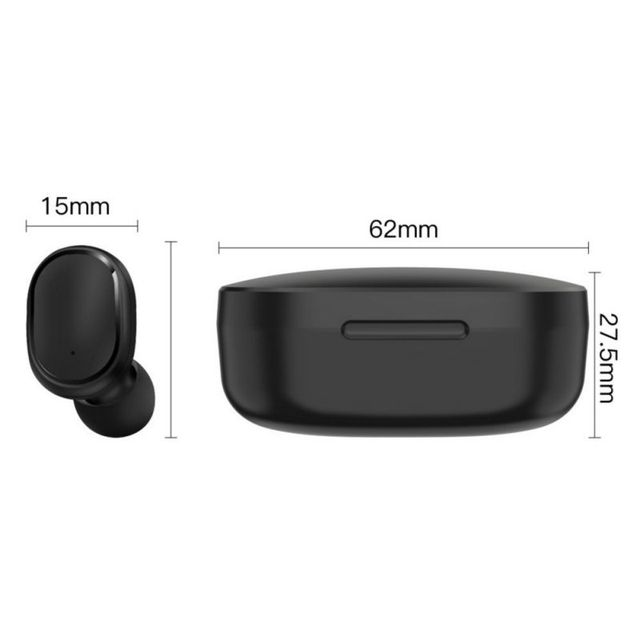 E6S TWS Bluetooth Earphone Wireless Headphones 5.0 LED Display Button Control Earbuds Waterproof Noise Cancelling Headset PK A6S 6