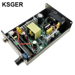 Image 5 - KSGER T12 OLED Soldering Station Iron Tips STM32 V2.1S ControllerDIY Kits 907 Handle Electric Tools Auto sleep 8s Tins EU plug