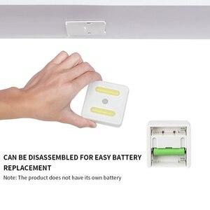 Image 4 - WAKYME LED Motion Sensor Night Light Cabinet Light Cupboard Wardrobe Bedroom Lamp UV Sterilizer Disinfection Lights UVC Lamp
