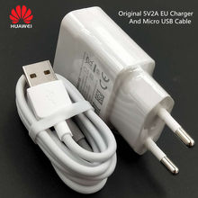 Original EU US Huawei Mate 10 Lite charging 5V2A charger and micro cable for p8 p9 p10 lite Honor 8x 7x y5 y6 y7 y9 Nova 3i 2i(China)