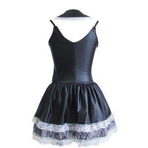 Image 3 - Сексуальные костюмы для женщин, сексуальный костюм для взрослых, экзотическая Французская горничная, женский костюм для косплея, для ролевых игр