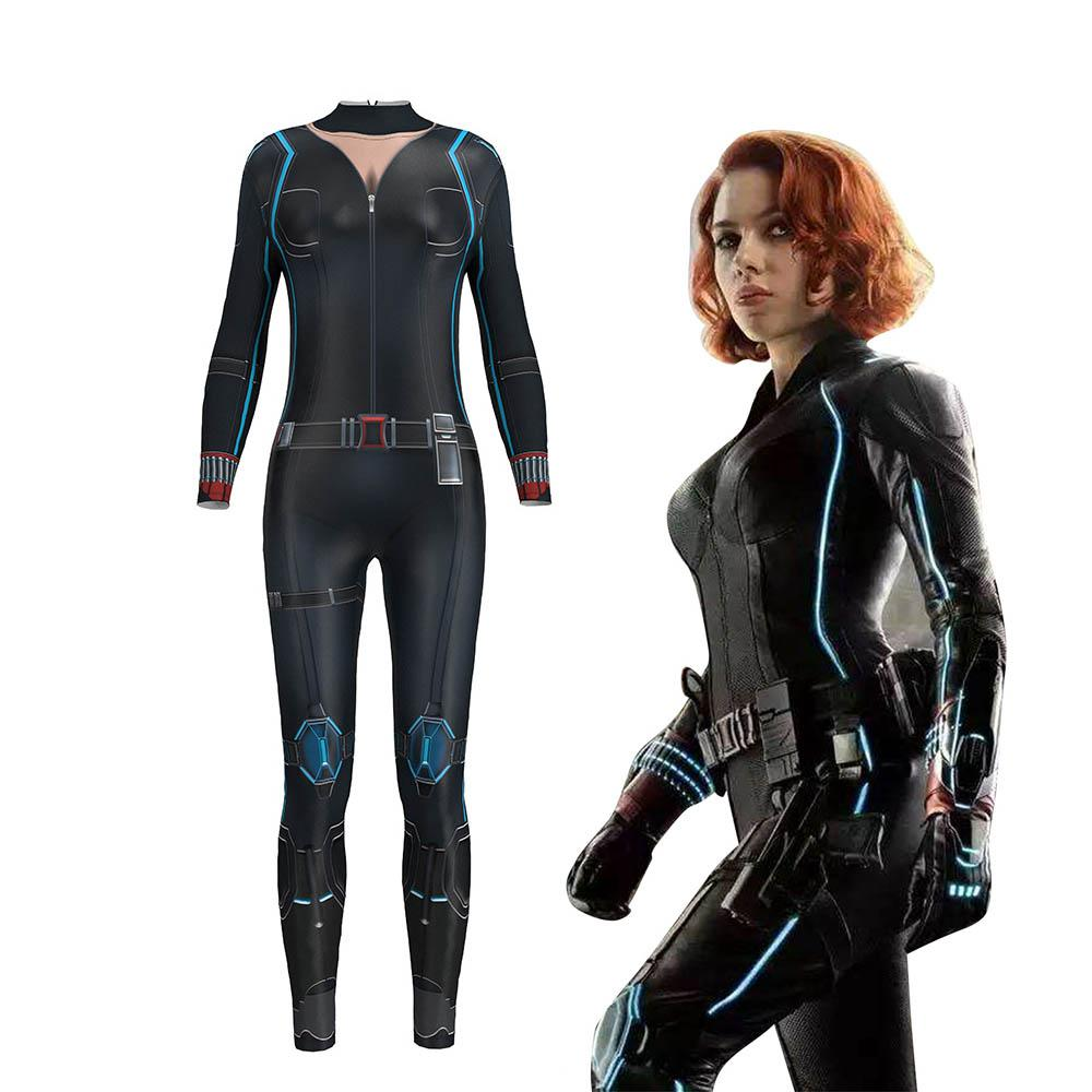 3d Print Sexy Cosplay Costume For Women Black Widow Avengers Infinity War Natalia Alianovna Romanova Bodysuit Jumpsuit Digital In Movie Tv Costumes From Novelty Special Use On Aliexpress
