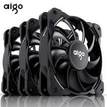 Aigo Frost 120mm PWM boîtier ventilateur 4 broches ordinateur ventilateur muet CPU refroidissement silencieux PC refroidisseur ventilateur boîtier ventilateurs 12V ajuster la vitesse du ventilateur vis libres
