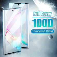 100D закаленное стекло для samsung Galaxy Note 10 Pro S8 S9 S10 PLus Защитная пленка для экрана Note 9 8 S10E Lite