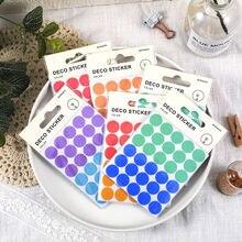 Цветная круглая герметичная этикетка наклейка календарь ручная