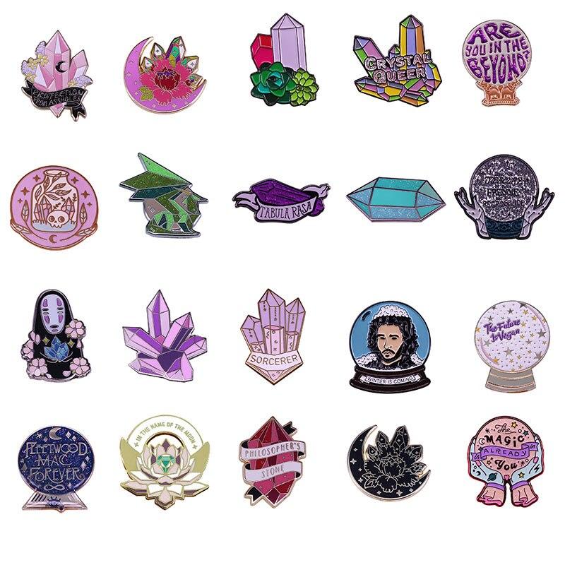 Proteção contra idiotas esmalte pinos recolher engraçado metal cartoon broche mochila chapéu lapela crachá masculino moda jóias presentes