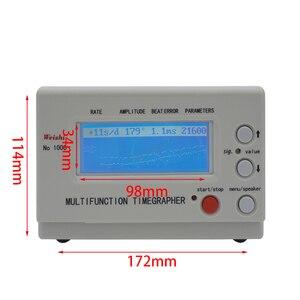 Image 5 - Mekanik saat ve cep Tester izle zamanlama makinesi İşlevli Timegrapher NO. 1000 tamircileri hobi İzle onarım araçları