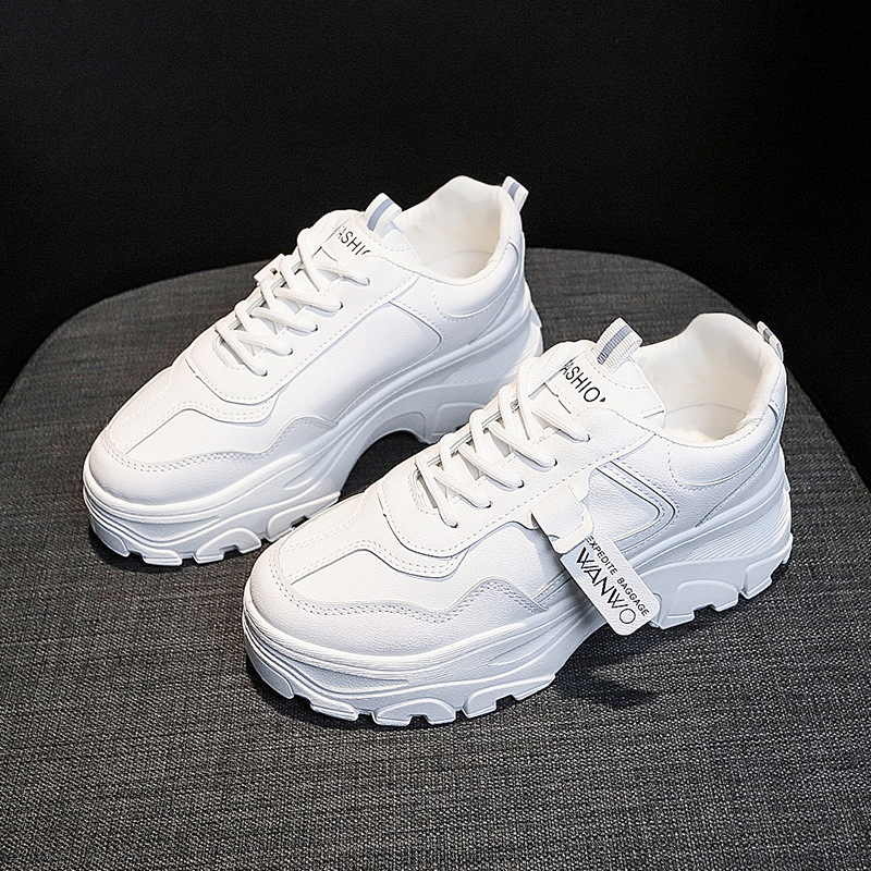Dad Platform Breathable Sneakers Women Summer Vulcanize Female Fashion Sneakers Lace Soft Basket Femme Mesh Sneakers For Women