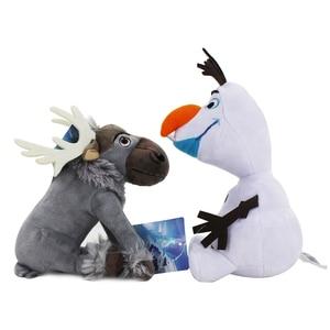 Image 4 - 20cm Disney Olaf Frozen 2 Plush Dolls Little Toys Sven Stuffed Animals Figures Collection for Children Birthday Christmas Gift