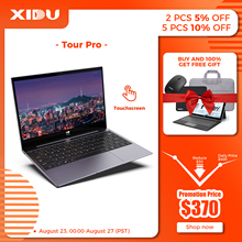 """XIDU Student Laptop 12.5 """" Touchscreen Notebook 10 Point Multi Touch Window10 8GB RAM 128GB ROM Suppot Expand to 1TB SSD Slim PC"""