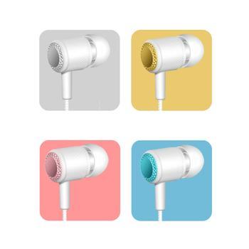 Sports Headphones wired Earphone Adjustable volume pause/play For Huawei xiaomi Honor earbuds wire Headset for smartphone image