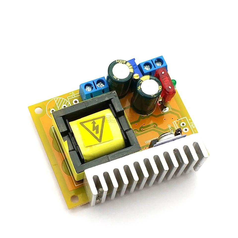 Преобразователь Boost 8-32 В до 45-390 в, высоковольтный ZVS конденсатор, зарядная плата 220 В 110 В