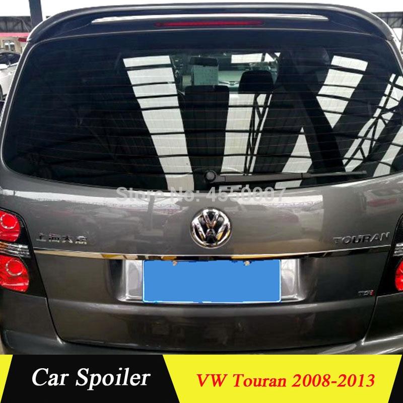 Для Volkswagen Touran высокое качество заднее крыло ABS Материал задний спойлер для Volkswagen Touran спойлер 2008 2013