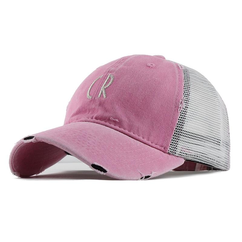 Mesh Baseball Cap For Women Men'S Summer Fitted Cap Snapback Dad Hat For Men Bone Gorra Casquette Fashion Hat#B519 2