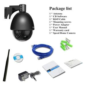 Image 5 - 4 Inch WIFI IP Camera PTZ 1080P 5X Zoom Tự Động Lấy Nét 2.7 13.5mm Ngoài Trời Camera An Ninh Không Dây vỏ kim loại Tốc Độ Dome HỒNG NGOẠI 60m