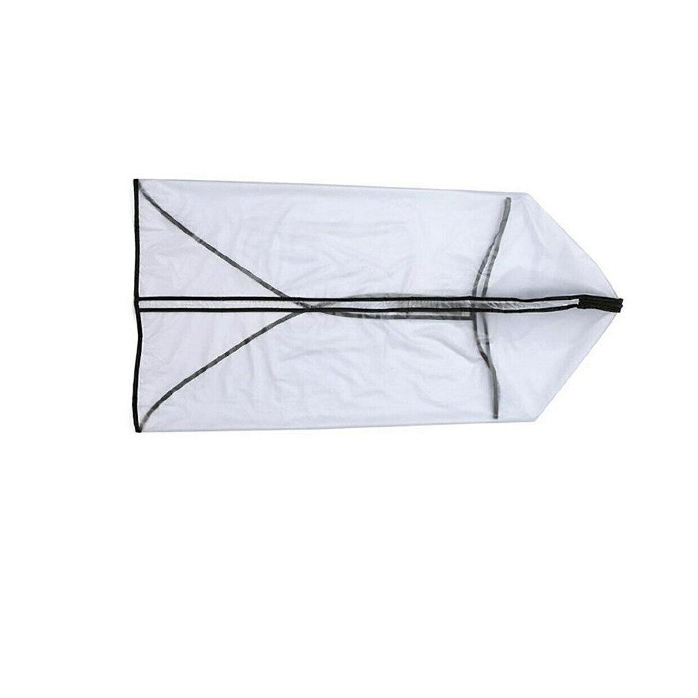 Antistatic Waterproof Dustproof PVC Bag Rod Protector Zipper Store Transparent Supplies Wear Resistant Golf Rain Cover Rainproof