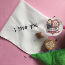 Wedding Gift to Groom, Embroidered Groom Handkerchief, Hankie
