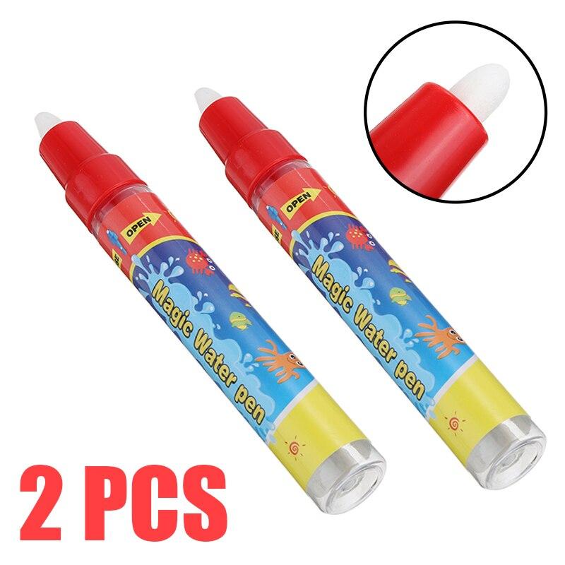 2pcs/set Aqua Water Pen Magic Pen Drawing Painting Writing Aquadraw Doodle Pens Replacement Aquadoodle Pens 125mm