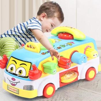 Children's toys baby universal plane flash sound effects colorful electric toys baby boy gifts
