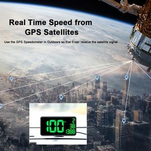 Image 5 - Mới Nhất Tốc Độ Hiển Thị Màn Hình Lớn 6.2 Inch C1090 Xe Kỹ Thuật Số GPS Đo Tốc Độ Km/H Dặm/Giờ Cho Xe Hơi Xe Đạp Xe Máy tự Động Phụ Kiện