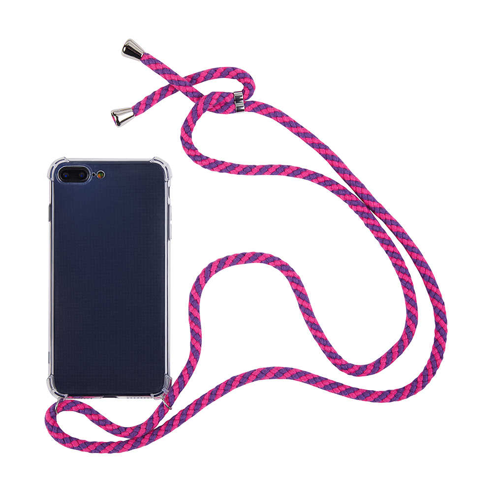 טהור כותנה רצועת כבל שרשרת שרשרת שרוך נייד טלפון מקרה לסמסונג גלקסי S20 בתוספת אולטרה S8 S9 S10 בתוספת הערה 10 פרו