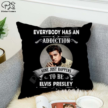Rock singer Bob Marley/The Hillbilly Cat Hip Hop Pillow Case Polyester Decorative Pillowcases Throw Pillow Cover Square style-3 image