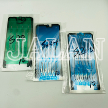 20 قطعة عالية الجودة الإطار ملصق ل SM S20 S20 + S20ultra ملاحظة 10 ملاحظة 10 + LCD شاشة الجبهة إطار لاصق 3M الغراء أجزاء