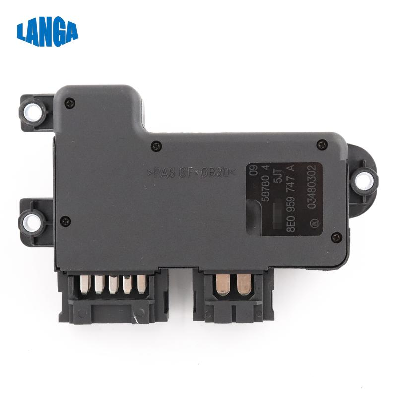 8E0949747 A Left Genuine Power Seat Adjustment Switch Seat Electric Control Switch For VW Golf 6 Jetta 5 Passat For AUDI A4 A6