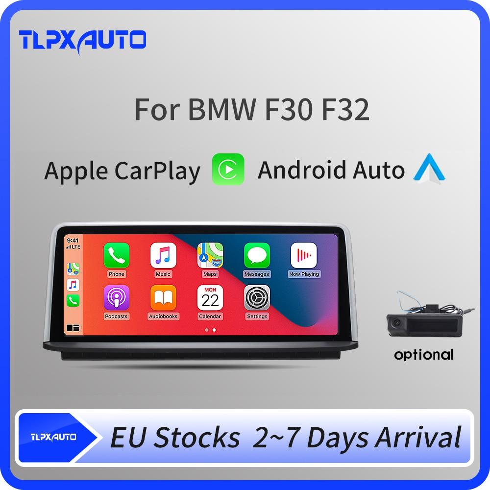 Автомагнитола Apple CarPlay, Android, для BMW серии 3/4, F30, F31, F32, F33, F34, F36, IPS экран 10,25 дюйма
