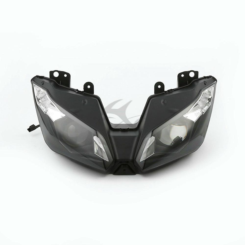 Hauptscheinwerfer Lamp Assembly Für Kawasaki ZZR600 05-08 ZX9R 00-03 ZX-6R 00-02