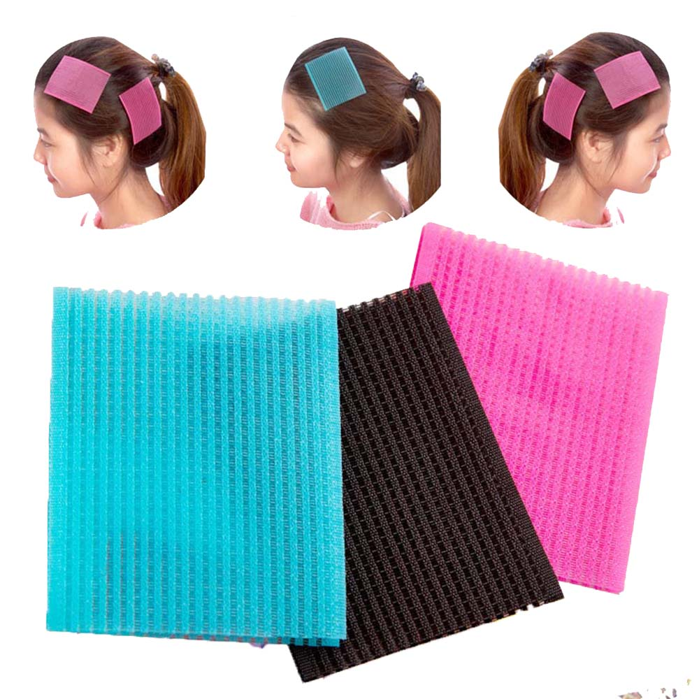 10Pcs Magic Sticker Barber Acessories Bangs Paste Posts Hair Sticker Gripper Barber Grippers Hair Holder For HairStyling Cutting