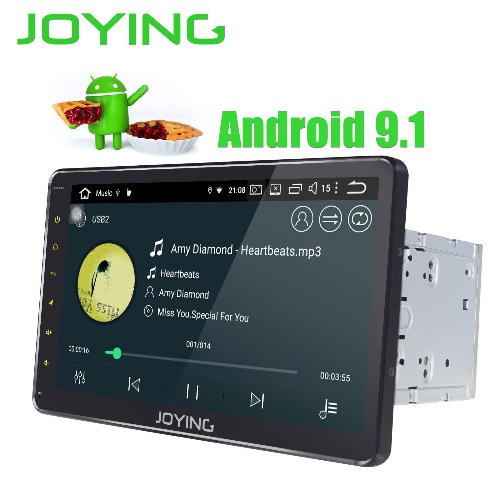 喧騒車のラジオプレーヤーのアンドロイド 10.1 JOYING 9.1