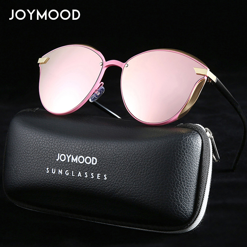 JOYMOOD Cat Eye Women Sunglasses Fashion Brand Designer Sun Glasses Ladies Vintage Polarized Sunglasses Women Cateye Eyewear