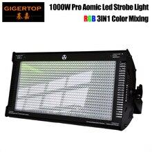 Gigertop 1000W CREE LED Strobe Light สำหรับ DJ DISCO PARTY แสงแฟลชสำหรับไฟคลับ RGB สีผสม blinder ผล