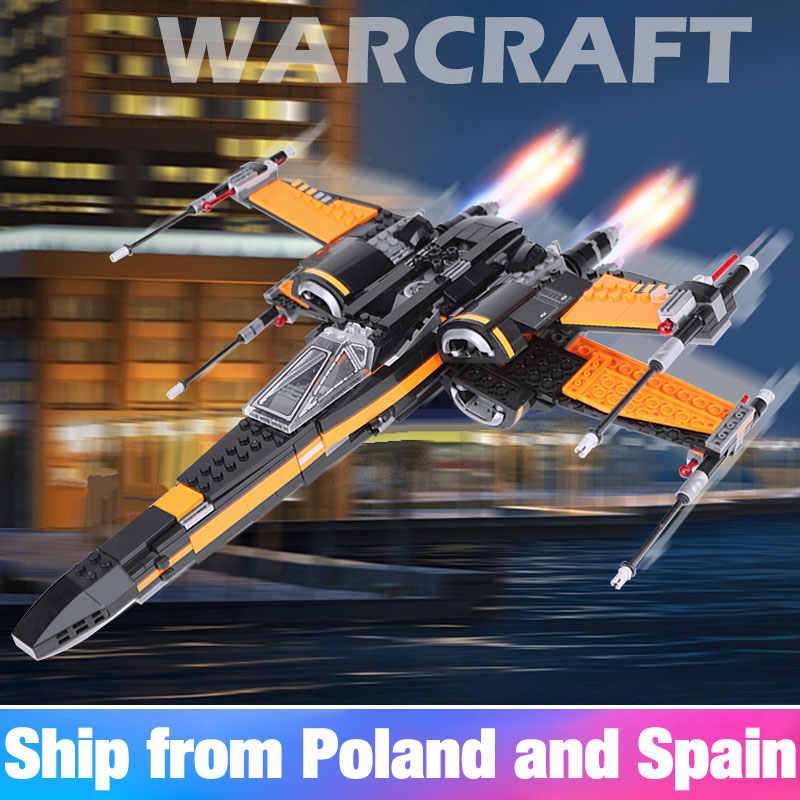 819 pcs Star Wars Series 05145 05004 X-Wing Starfighter Compatible With lego Star Wars Series 75218 Building Blocks Toys