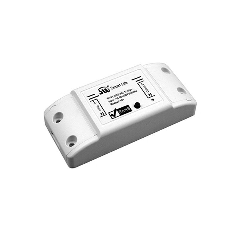 MoesHouse DIY WiFi Smart Light Switch Univer Sal Breaker Timer Smart Life APP Wireless Remote Control Work Alexa Google Home