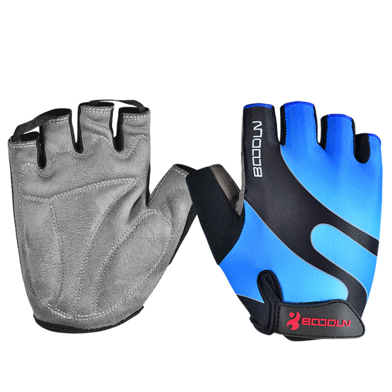Купить с кэшбэком Brand Summer Men Women Cycling Gloves Half Finger Skate Gym Ftiness Airsoft Sport MTB Bike Bicycle Gloves for Kids Boys Girls