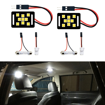 2pcs LED Light T10 W5W Festoon 28mm 31mm 36mm 39mm 41mm C5W Lamp Bulb For Suzuki Swift Vitara Kizashi bmw 323i x3 x6 vw beetle image