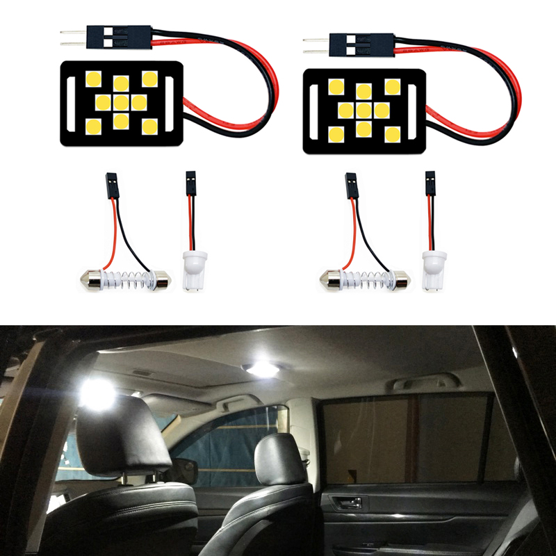 2pcs <font><b>LED</b></font> Light T10 W5W Festoon 28mm 31mm 36mm 39mm 41mm C5W Lamp Bulb For <font><b>Mitsubishi</b></font> <font><b>lancer</b></font> <font><b>x</b></font> 10 l200 pajero sport xl Galant rvr image