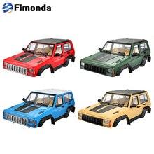 313 мм Колесная база полный Jeep Cherokee XJ жесткого тела комплект для 1/10 RC комплект автомобильных принадлежностей для передней и задней оси SCX10& SCX10 II 90046 Traxxas TRX4