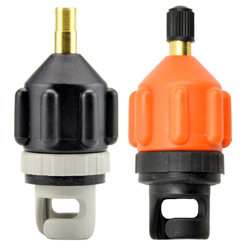 1pcs Air Valves Adaptor Paddle Board Sup Mouth Kayak Surfboard Valve Inflatable Adapter Car Pump Standard Air Valve Adapters