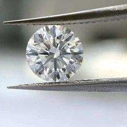 100% Natuurlijke Diamant Steen 3Mm Fg Vs 0.11cts Brilliant Cut Losse Diamant Voor Sieraden Maken