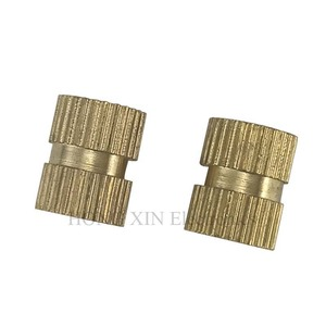 Image 2 - 210pcs/set Brass Cylinder Knurled Threaded Round Insert Embedded Nuts Kit with Plastic Box