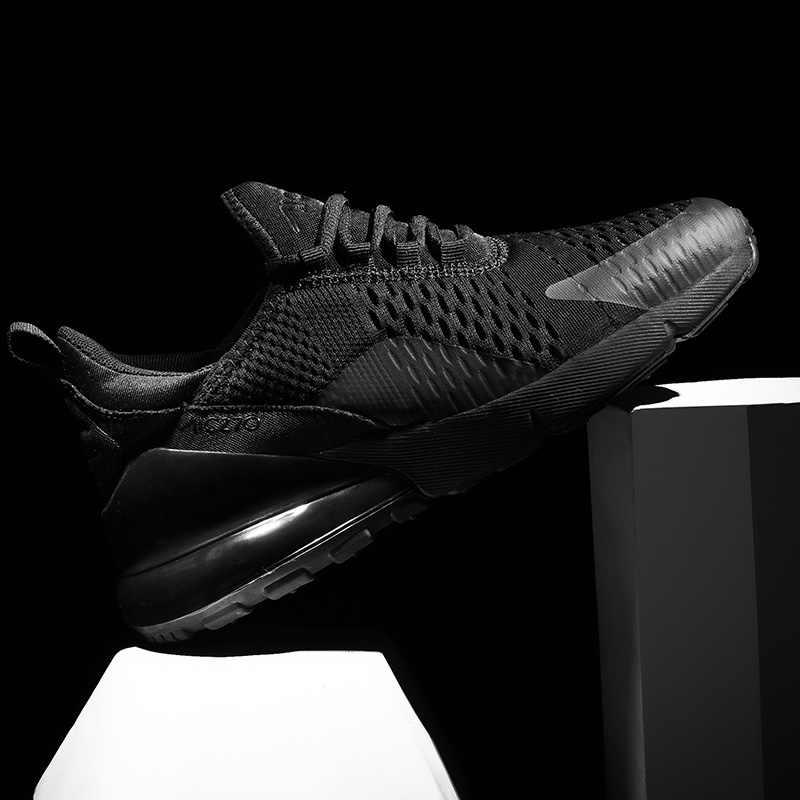 Hafif erkekler koşu ayakkabıları basit tarzı Patchwork Mesh eğitmeni ayakkabı 270 Summerr en kaliteli parça spor erkek ayakkabı