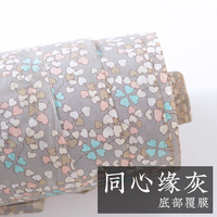 PVC coated cotton cloth Japanese fabric end clearance special DIY handmade tablecloth waterproof greasy fabric