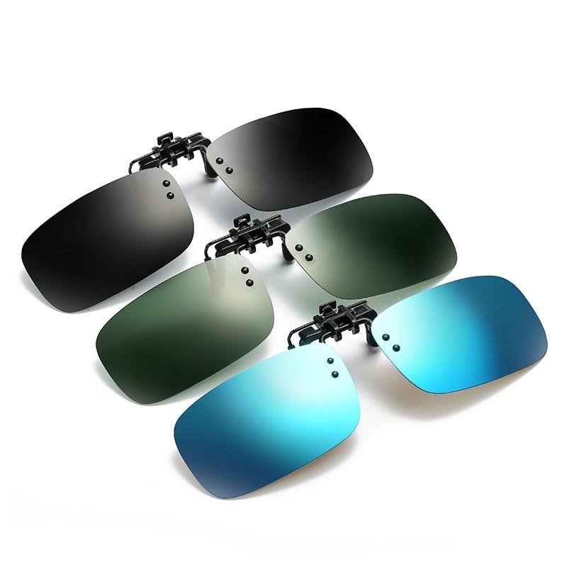 Zerosun Polarized Sunglasses Clip Myopia Driving Sun Glasses For Men Women Optic Eyewear Fit Over Spectales