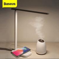 Baseus Desktop Lamp Light Qi Wireless Charger For iPhone Xsmax Xs X 8 Folding Table Lamp Wirless Charging Pad For Samsung S10 S9 Wireless Chargers     -