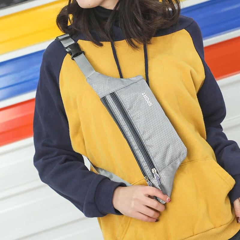 Casual Ultra-thin Waist Bag Women's Travel Hidden Fanny Pack Waterproof Belt Pouch Crossbody Bag