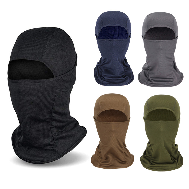 Outdoor Windproof Balaclava Face Mask Full Face UV Protection Motorcycle Cycling Ski Sun Hood Tactical Cap For Women Men