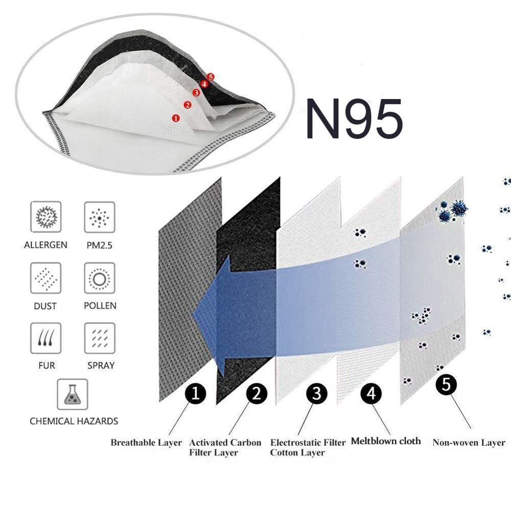 N95 N99 велосипедная маска FFP3 велосипедная активная углеродная с фильтром Пылезащитная Маска дыхательный клапан Защита от загрязнения Бегова...
